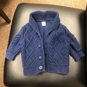 Baby boy blue sweater